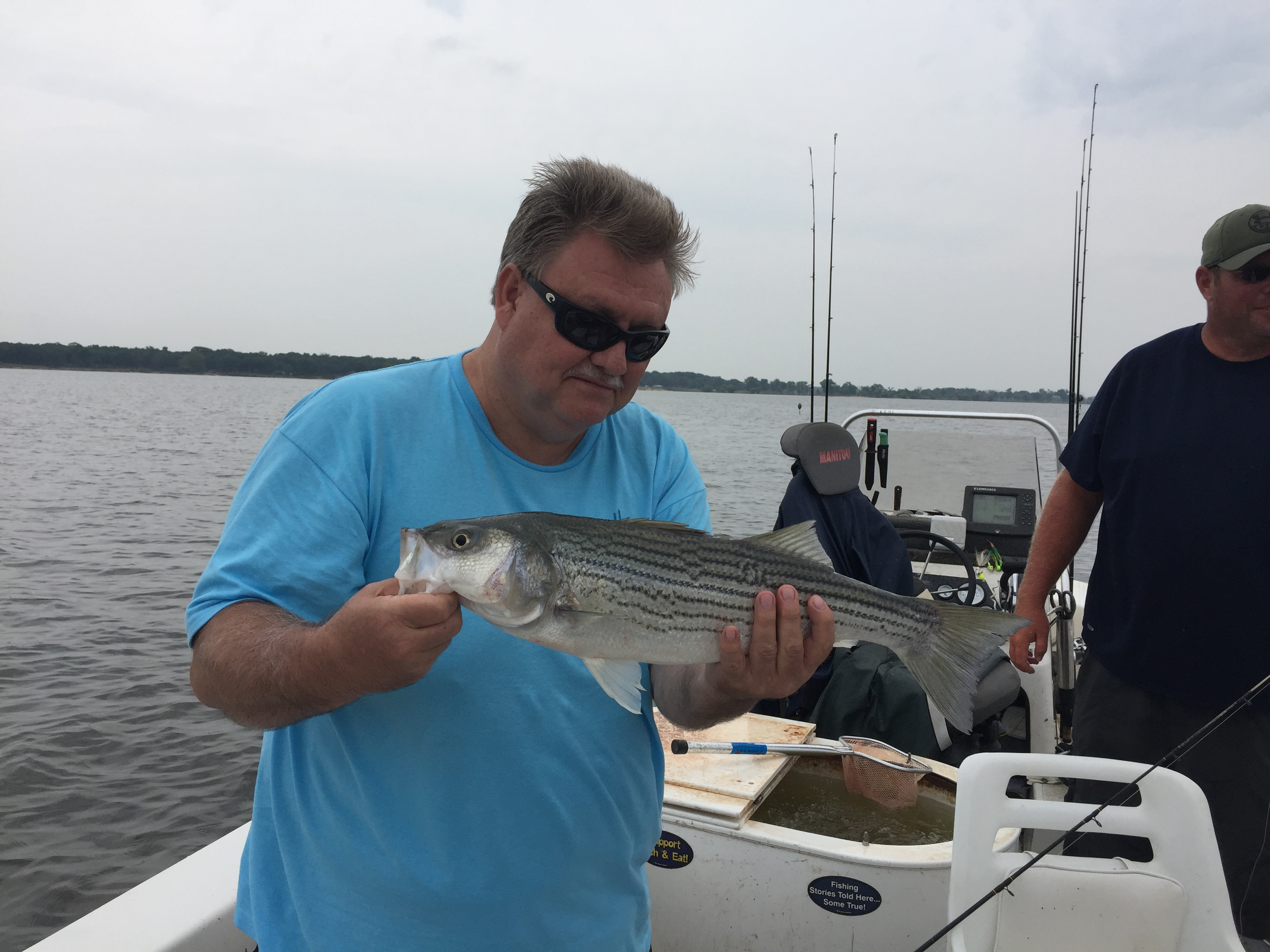 Striper Fishing, Lake Texoma