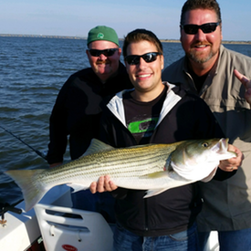 Lake Texoma Striper Guide, Lake Texoma Striper Guides